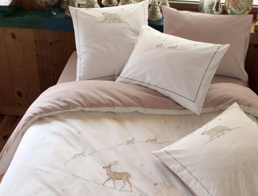 linge de lit conte d 39 hiver linvosges. Black Bedroom Furniture Sets. Home Design Ideas