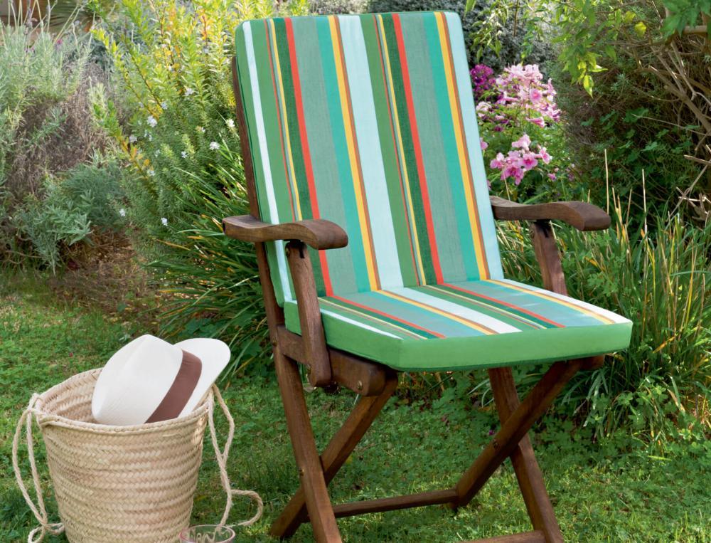 coussin de fauteuil ou de chaise sur la durance linvosges. Black Bedroom Furniture Sets. Home Design Ideas