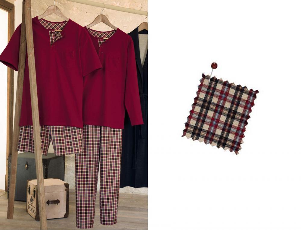 Pyjama homme danube linvosges for Coudre une housse de couette