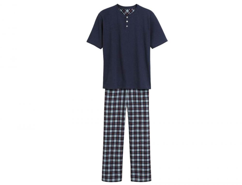 Pyjama et pyjashort homme douard linvosges for Vetement d interieur homme