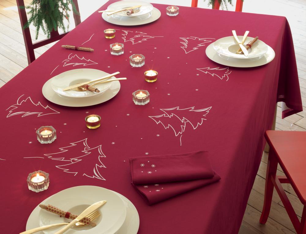 Nappe helsinki linvosges for Une nappe de table