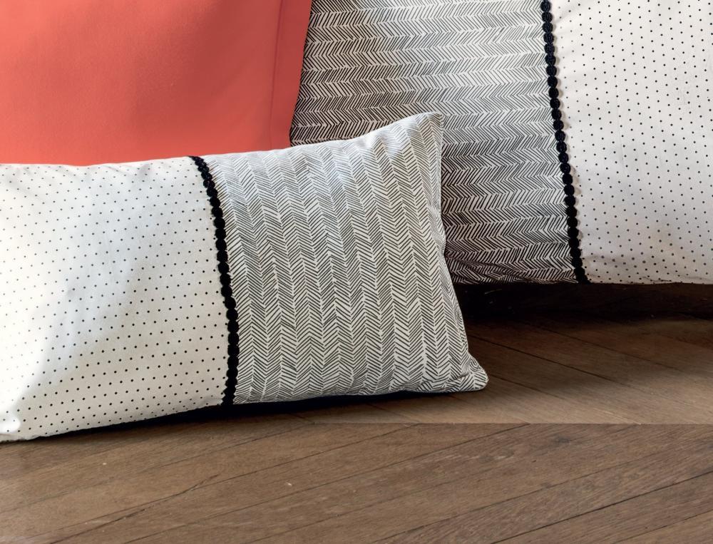 housse de coussin matin duo linvosges. Black Bedroom Furniture Sets. Home Design Ideas