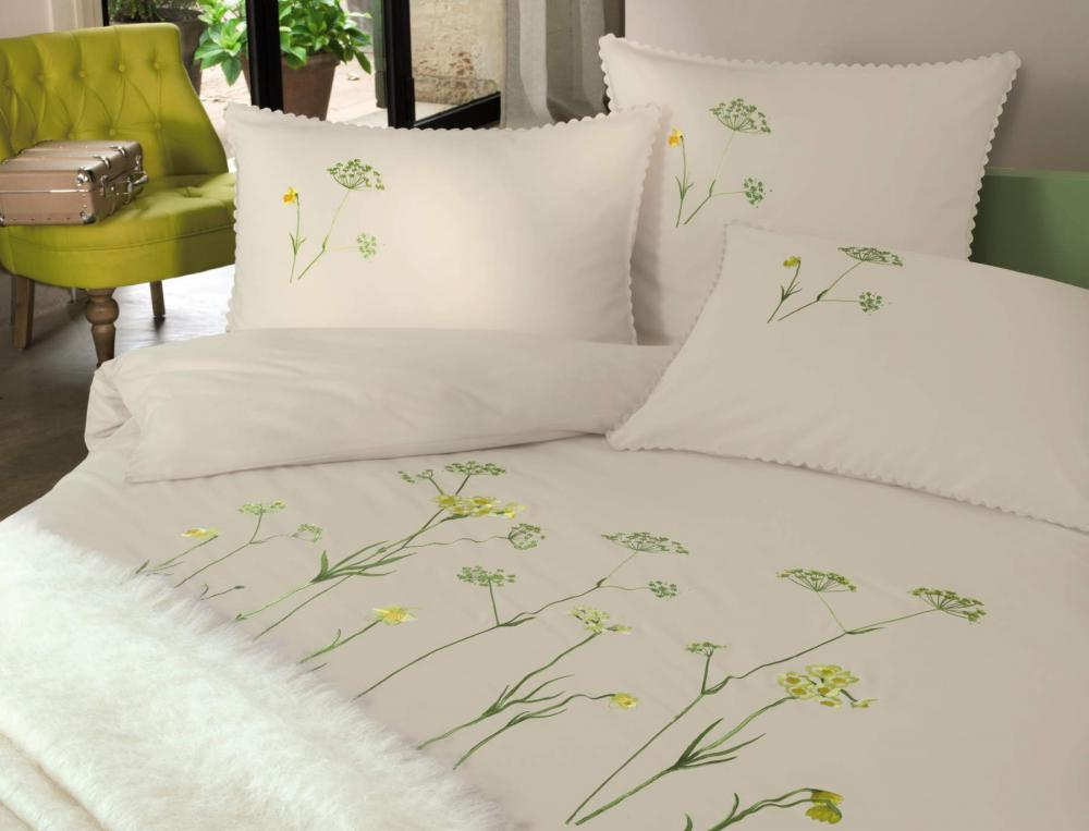 linge de lit jonquilles en f te linvosges. Black Bedroom Furniture Sets. Home Design Ideas