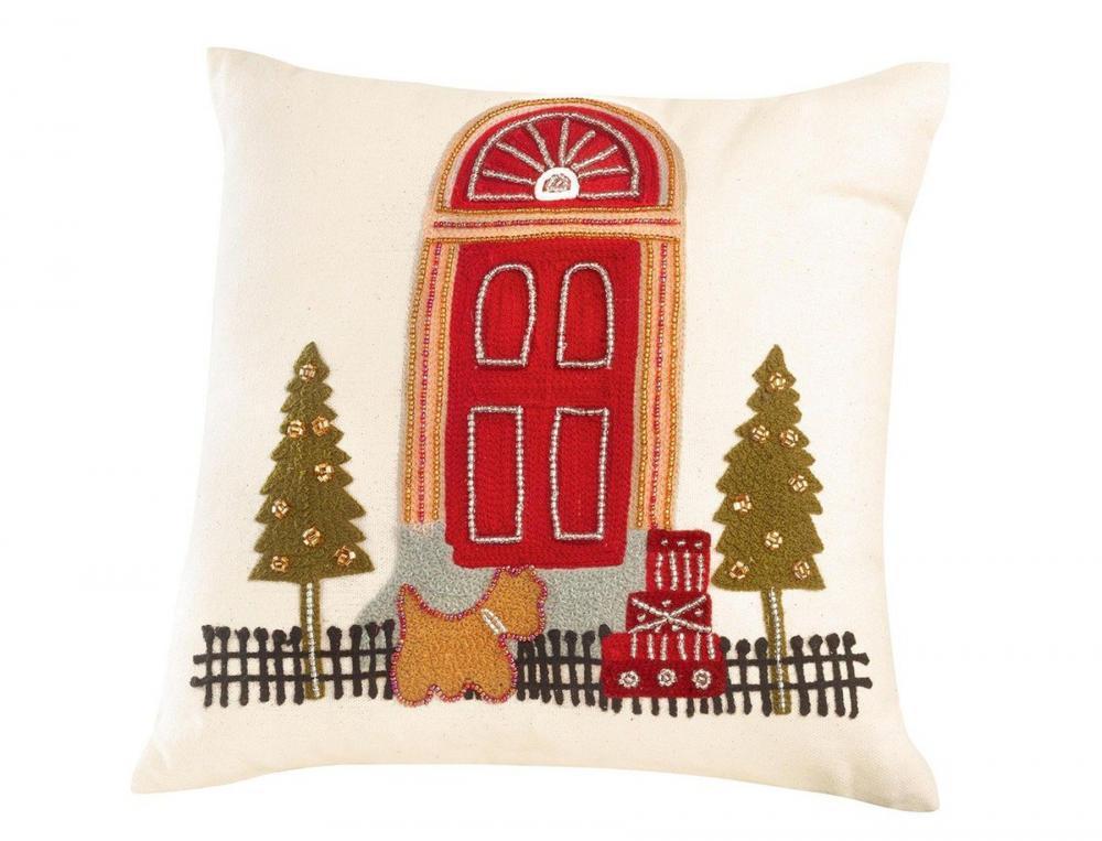 kissen weihnachten in london linvosges. Black Bedroom Furniture Sets. Home Design Ideas