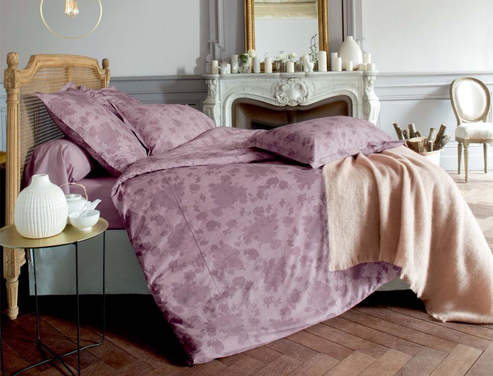 linge de lit bois de rose linvosges. Black Bedroom Furniture Sets. Home Design Ideas