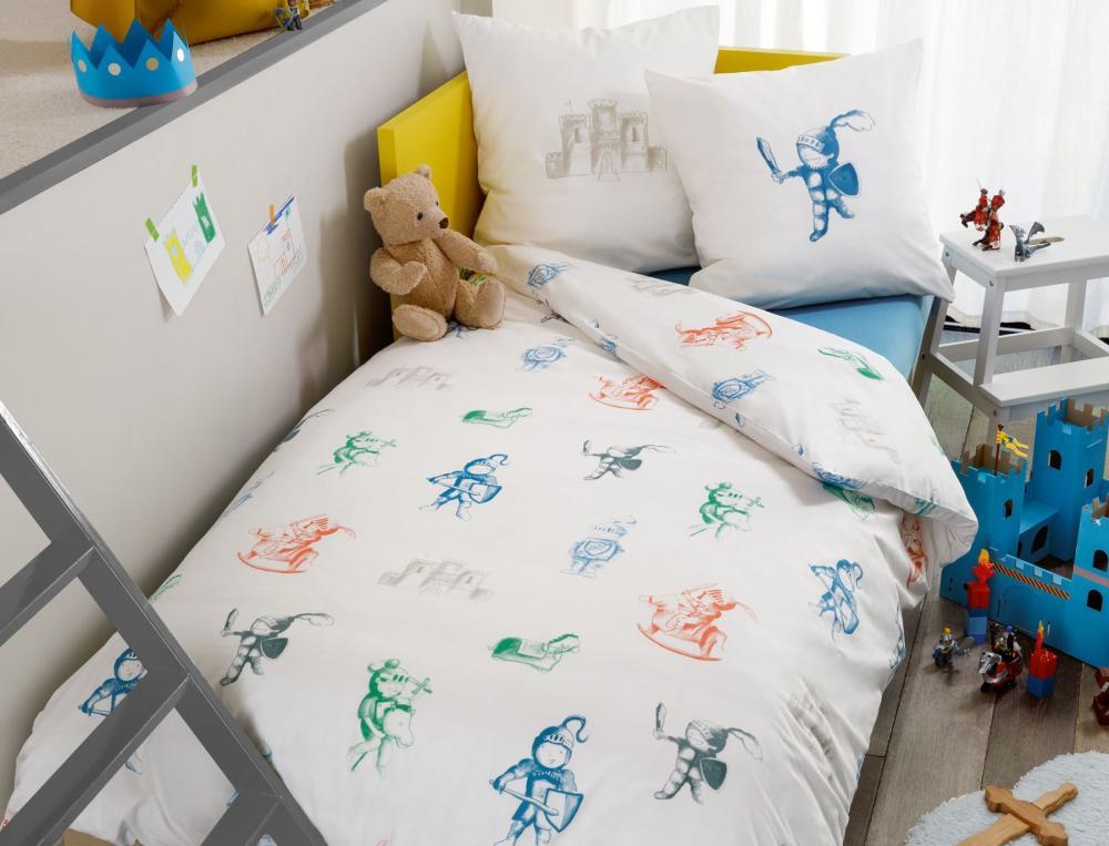 Linge de lit enfant ch teau fort soldes linvosges - Analyse de pratique toilette au lit ...