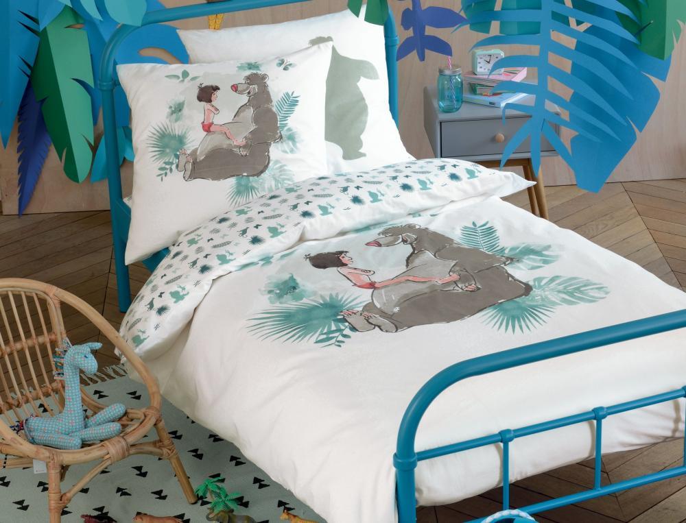 linge de lit enfant le livre de la jungle linvosges