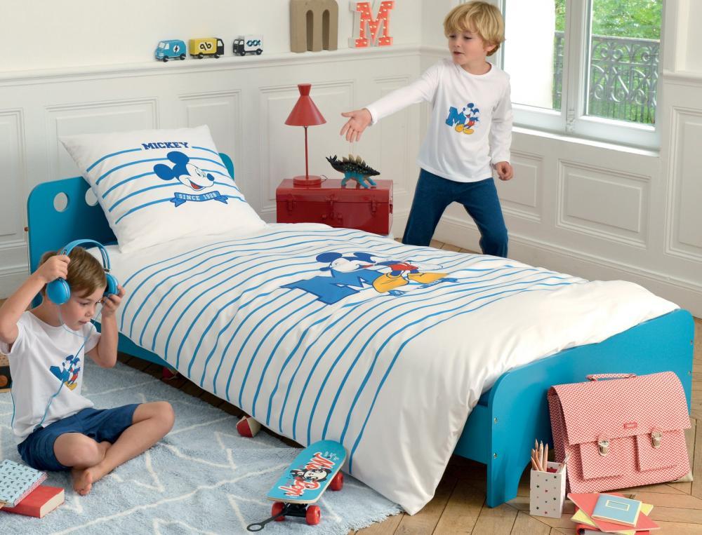 linge de lit enfant mickey linvosges. Black Bedroom Furniture Sets. Home Design Ideas