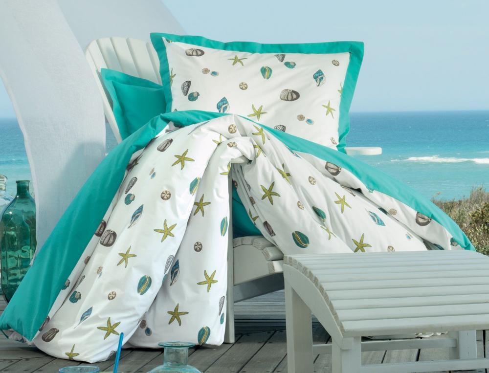 linge de lit escale portofino linvosges. Black Bedroom Furniture Sets. Home Design Ideas