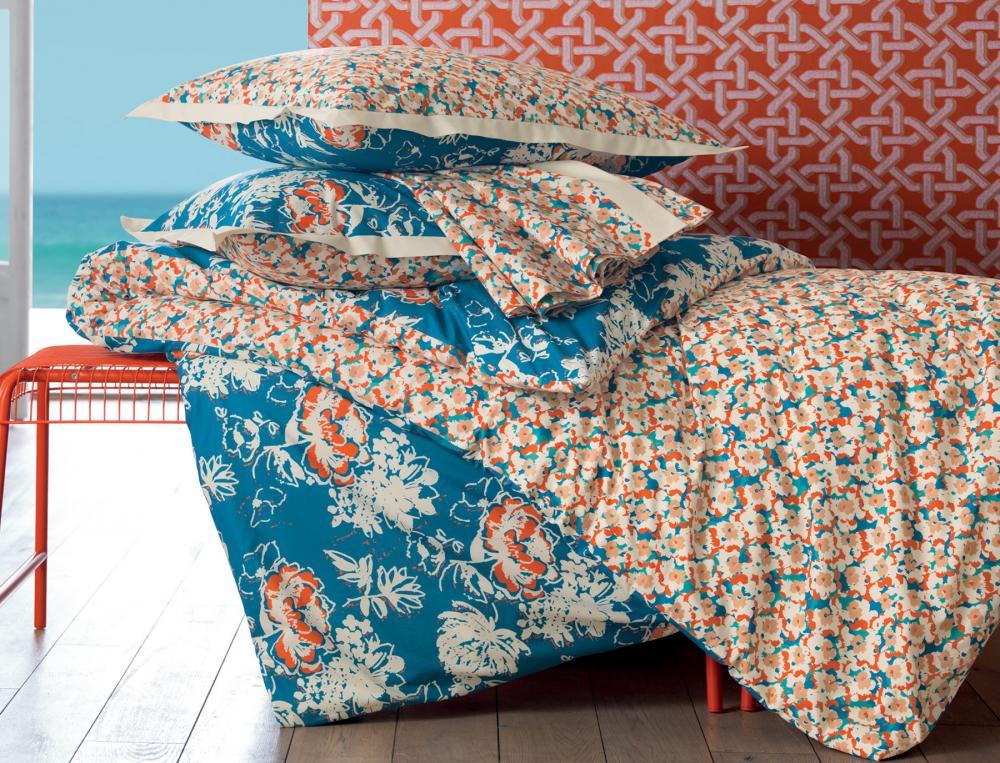 linge de lit floral exub rante linvosges. Black Bedroom Furniture Sets. Home Design Ideas