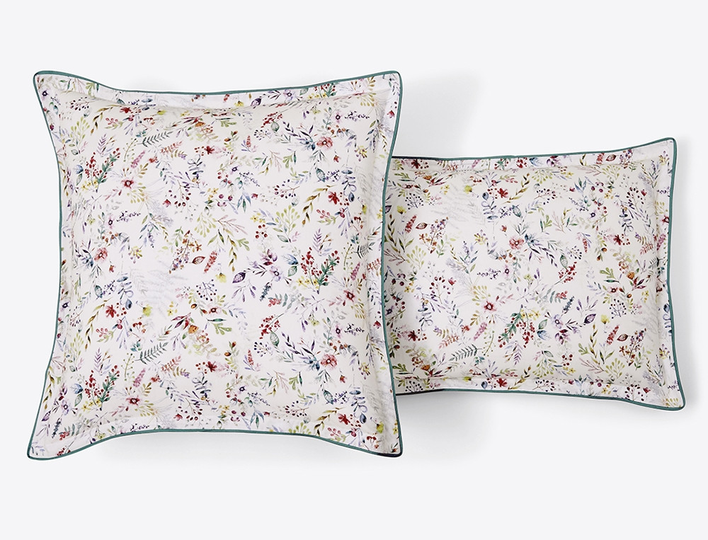 Linge de lit giverny linvosges for Housse couette linvosges