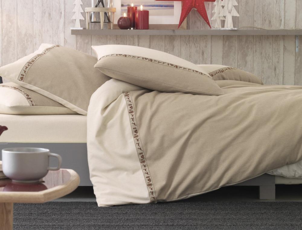 housse de couette 1 ou 2 personnes les chamois linvosges. Black Bedroom Furniture Sets. Home Design Ideas