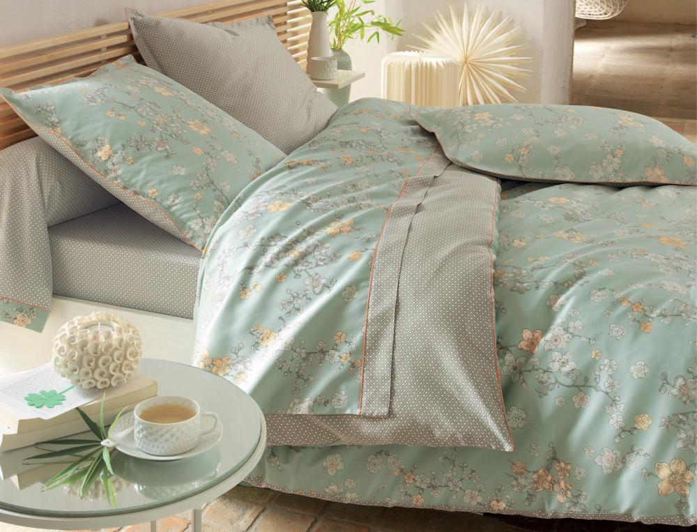 Linge de lit Nuit de Jade | Linvosges