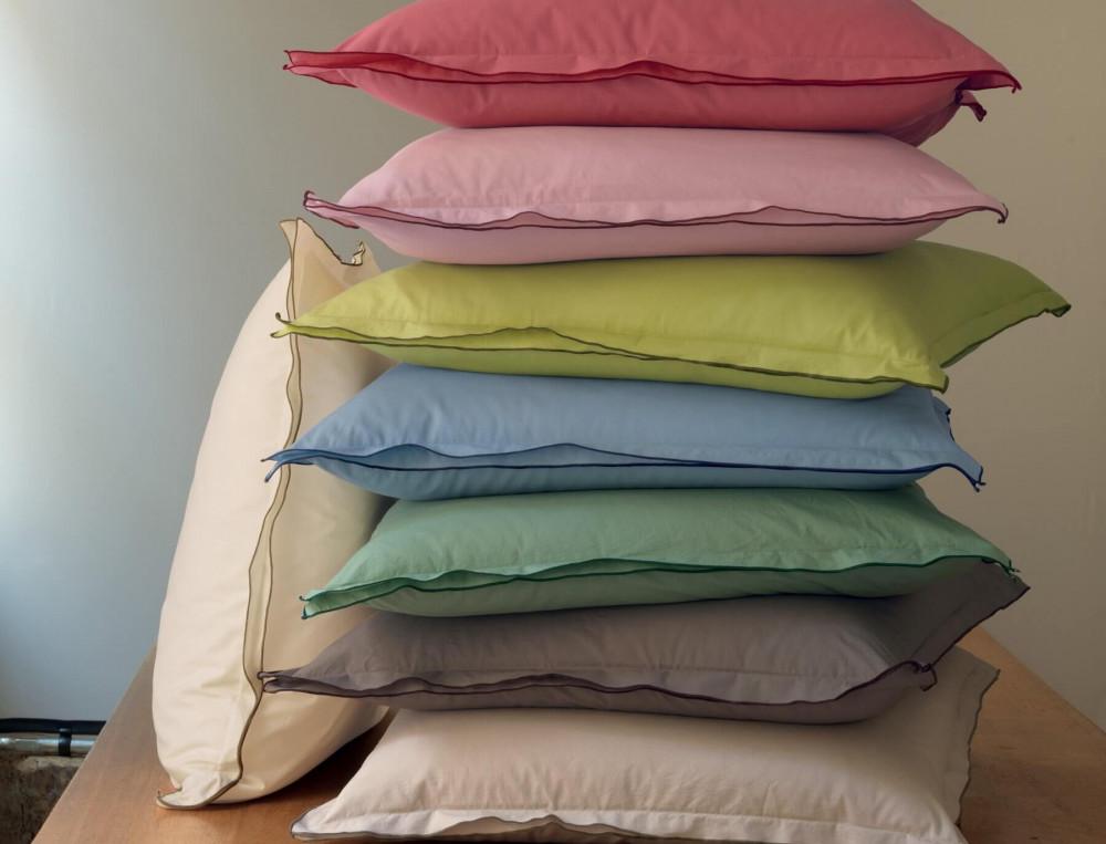 linge de lit percale lav e linvosges. Black Bedroom Furniture Sets. Home Design Ideas