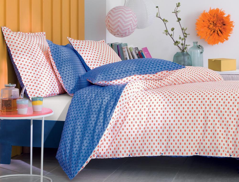 linge de lit pressionnata imprim linvosges. Black Bedroom Furniture Sets. Home Design Ideas