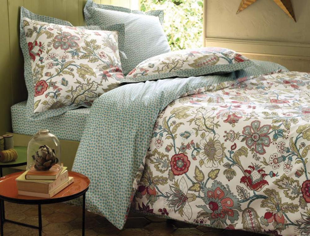 Soldes linge de lit linge de lit soldes descamps soldes for Parure de lit ralph lauren