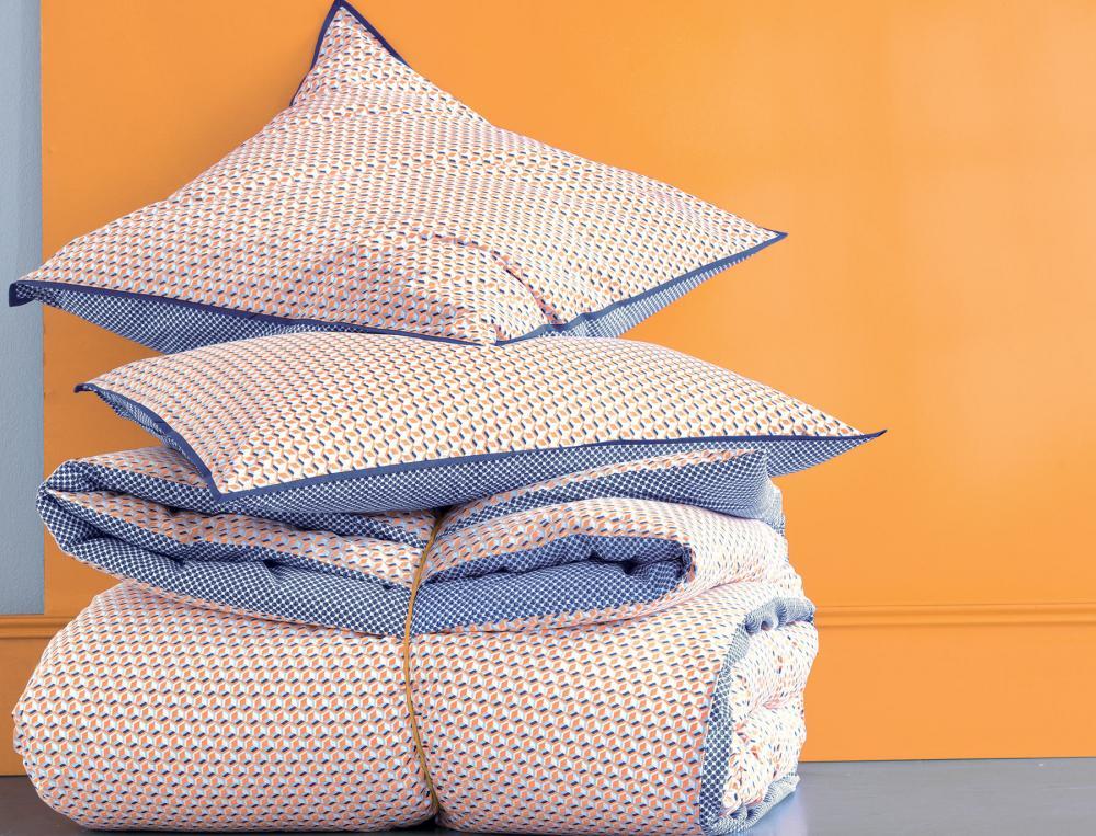 linge de lit tressage graphique linvosges. Black Bedroom Furniture Sets. Home Design Ideas