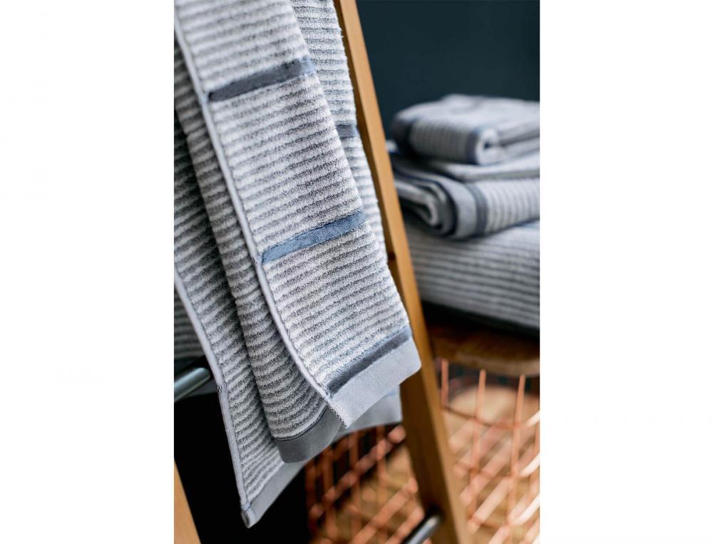 linge de toilette jacquard aurore baltique linvosges. Black Bedroom Furniture Sets. Home Design Ideas