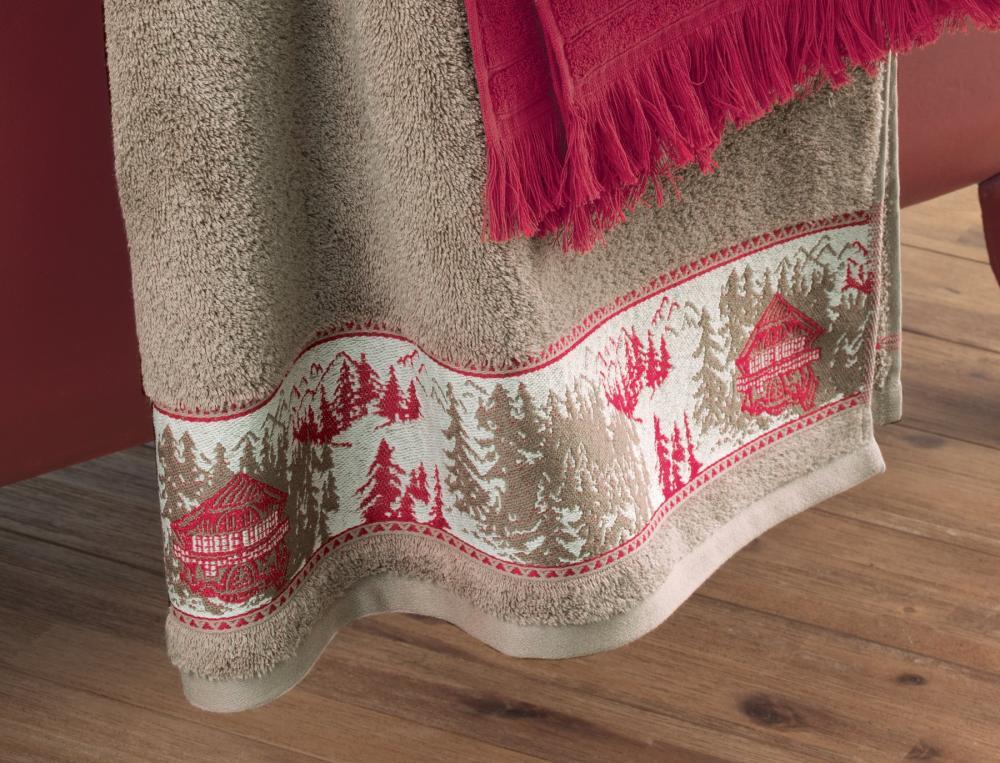linge de toilette chalet enneig linvosges. Black Bedroom Furniture Sets. Home Design Ideas