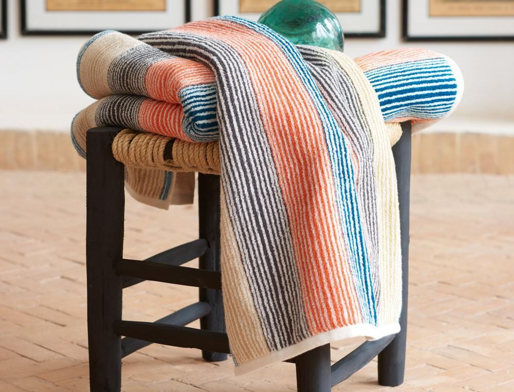 linge de toilette jacquard toile d 39 ailleurs linvosges. Black Bedroom Furniture Sets. Home Design Ideas