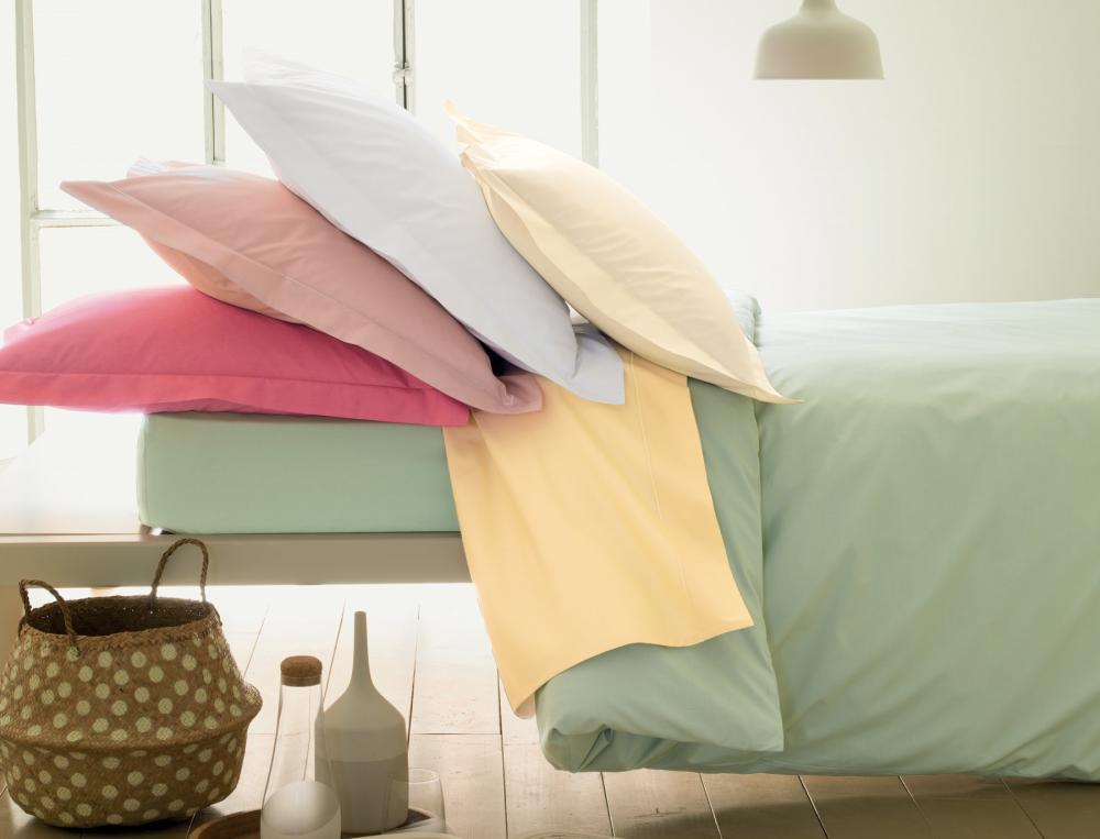 Linge de lit percale coton for Linge de chambre