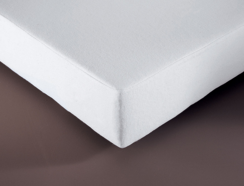 protection lit en coton molleton 200g m bonnet 35 cm linvosges. Black Bedroom Furniture Sets. Home Design Ideas