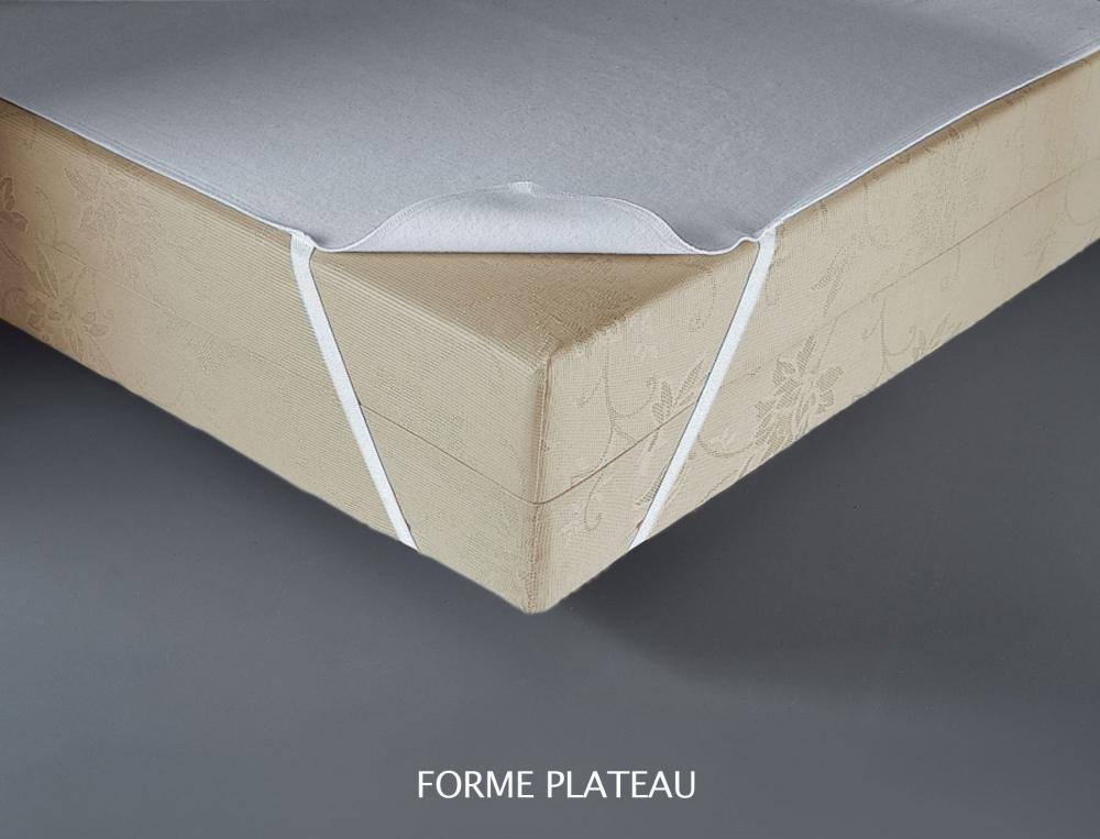 Molleton 4 saisons élastomère aegis 350g/m² bonnet 35 cm