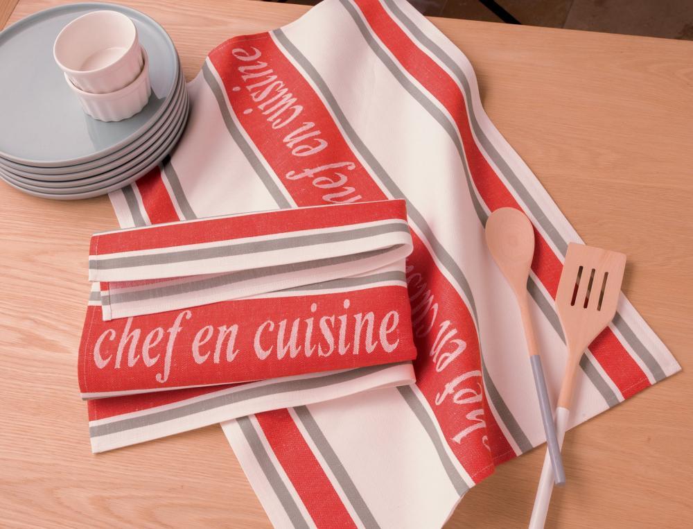 Chef En cuisine - 2 torchons