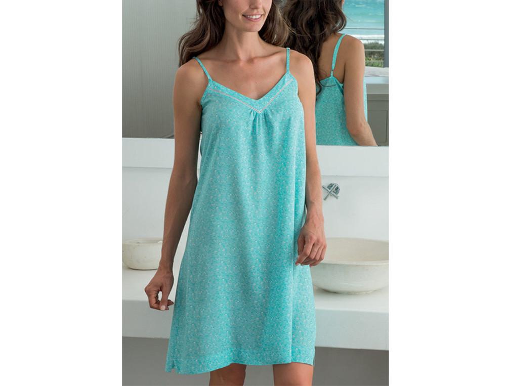 8e09c693110 ... Vêtements femme coloris turquoise Perle d écume ...