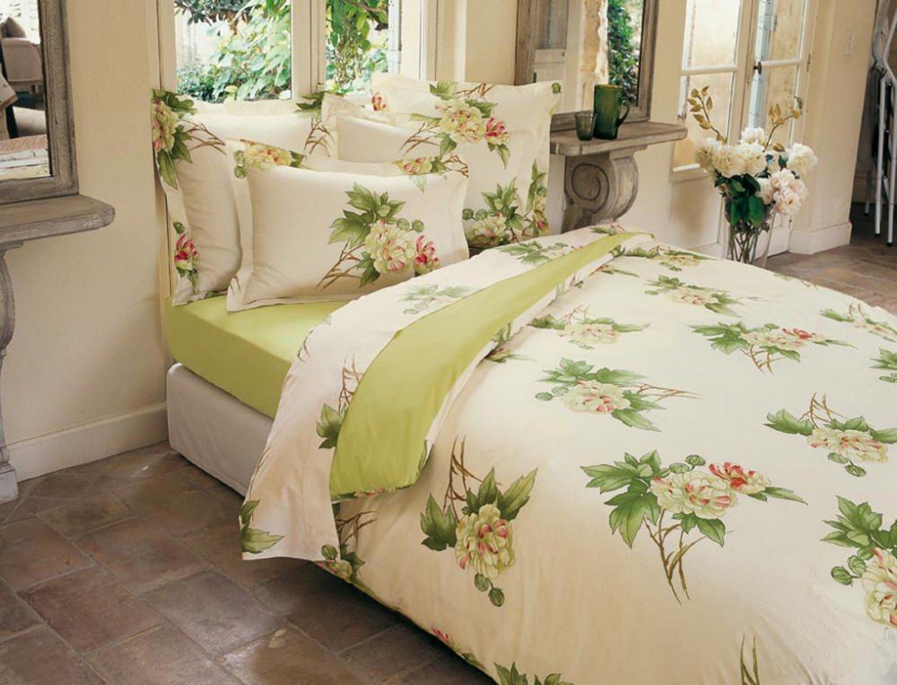 linge de lit villa carolina linvosges. Black Bedroom Furniture Sets. Home Design Ideas